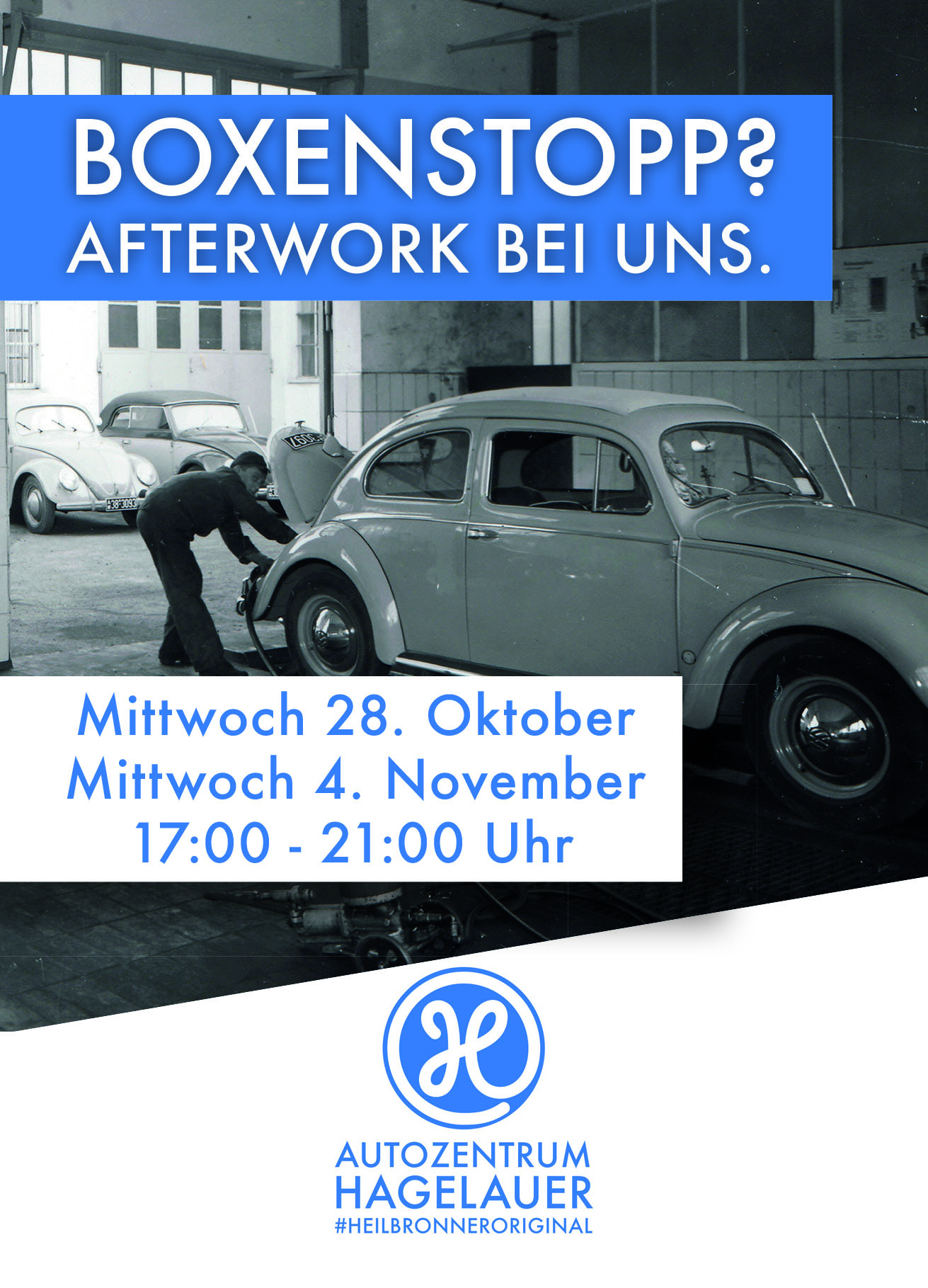 Afterwork Meeting im Autozentrum Hagelauer