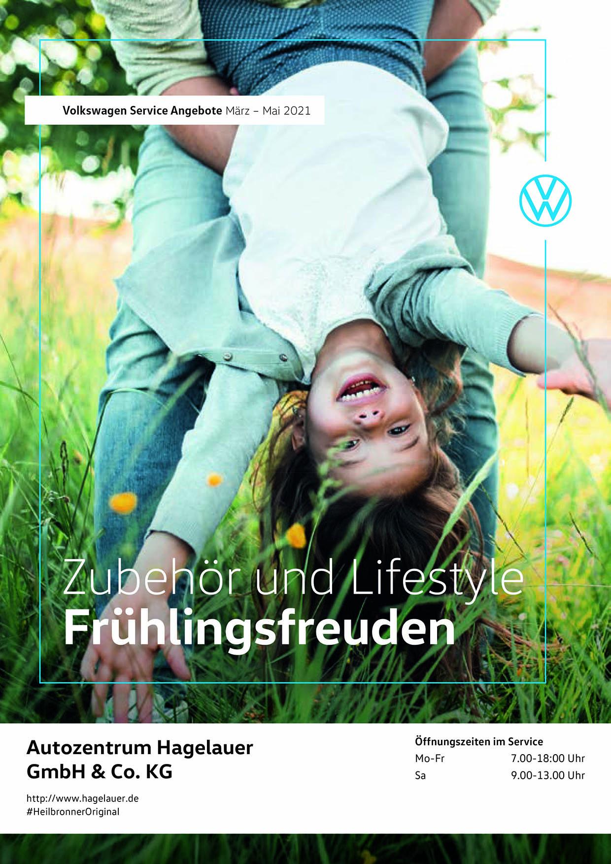 Volkswagen Service Angebote: März – Mai 2021