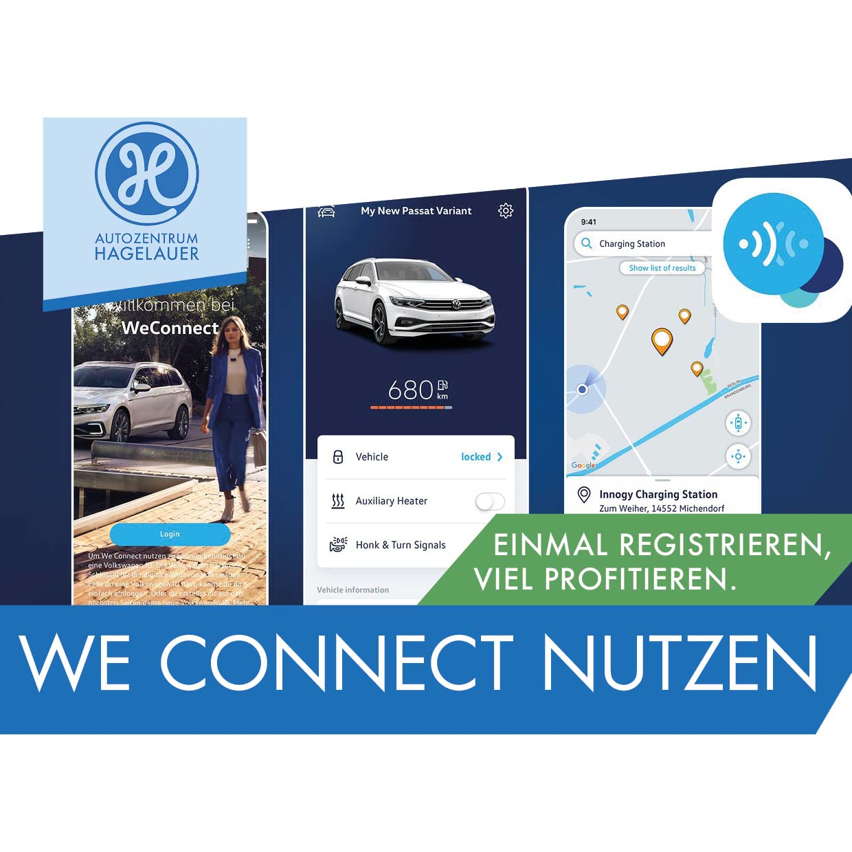 Volkswagen We Connect